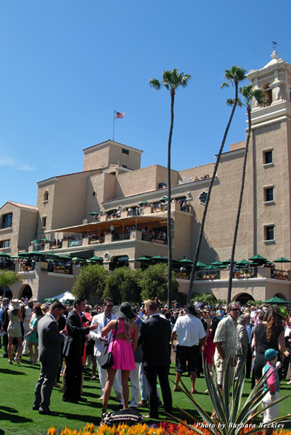 Del Mar is the No. 2 racetrack in America in attendance and bets placed