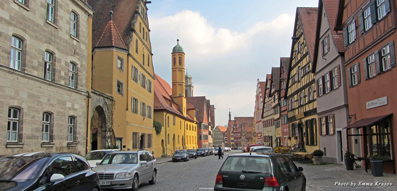 Dinkensbuhl, a typical Romantic Road town