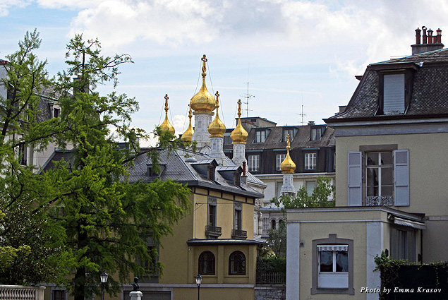 Russian church in Geneva