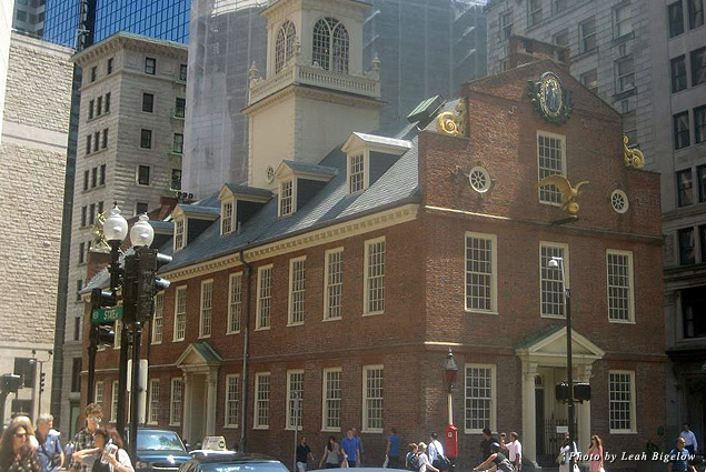 Exterior of the Old South Meeting House