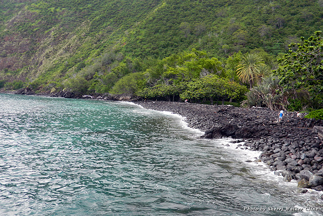 The waters in Kealakekua Bay are ideal for snorkeling