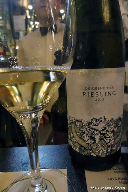 Local's favorite, a dry German Riesling