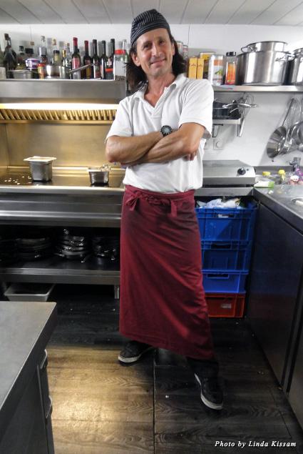 Chef de cuisine Franco di Battista