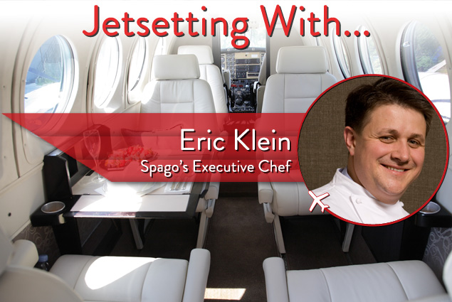 Jetsetting With Spago Las Vegas' Executive Chef Eric Klein