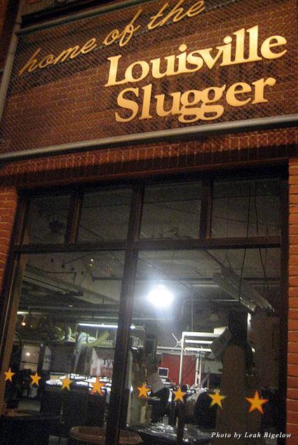 A peek inside the Louisville Slugger factory