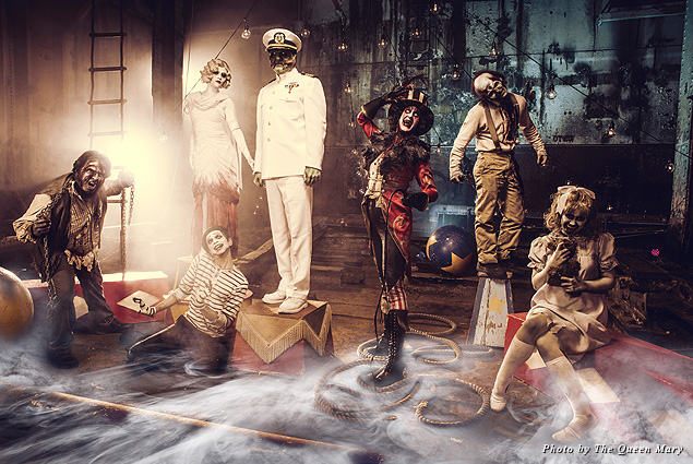 Monsters at Queen Mary Dark Harbor