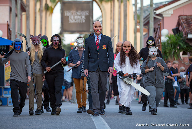 "This year, Universal Orlando Resort's Halloween Horror Nights will channel the film ""The Purge"""