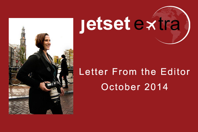 Letter From the Editor - October 2014