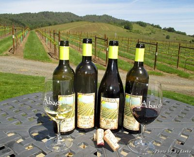 Enjoy the wines and views at Abacela Winery