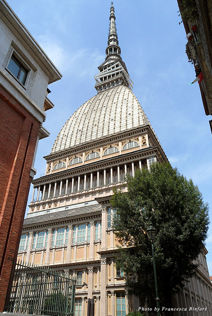 Mole Antonelliana is the symbol of the city, with its tall spire