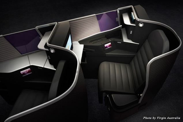 A look at Virgin Australia's new Business Class seats