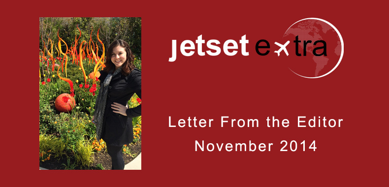 Letter From the Editor: November 2014