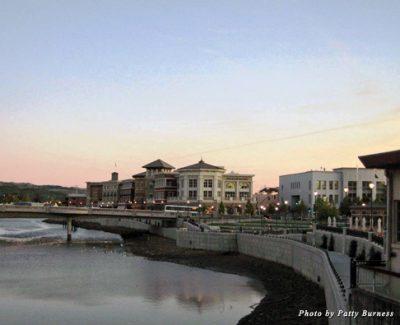 Napa's riverfront