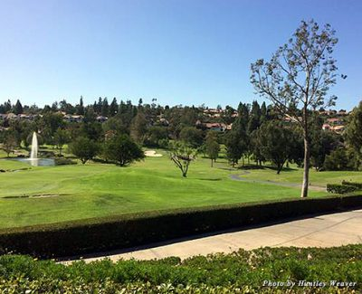 A view of the 18th green at Rancho Bernardo Golf Course, which is truly spectacularA view of the 18th green at Rancho Bernardo Golf Course, which is truly spectacular