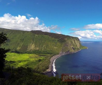 Looking out over the Big Island's Waipi'o Valley