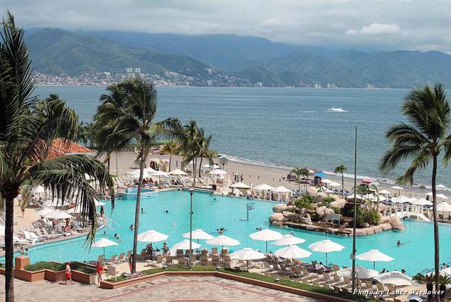 The CasaMagna Marriott provided plenty of ways to enjoy Mexico