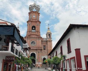 Downtown Puerto Vallarta is filled with beautiful churches, architecture, shopping, and more