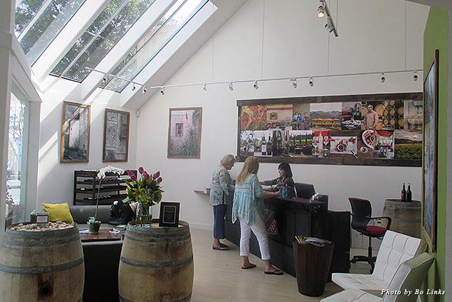 Madrigal Family Winery tasting room