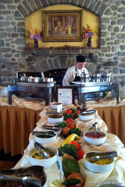 Inn at Pocono Manor buffet breakfast