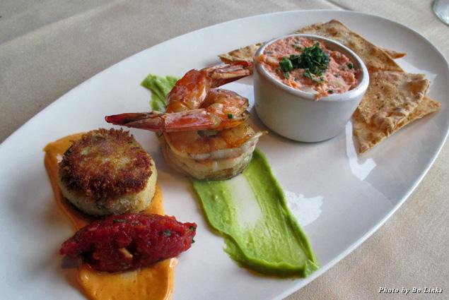 Sonoma seafood sampler