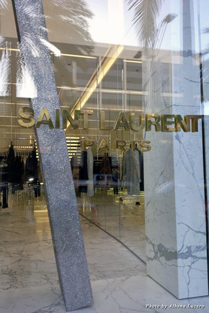 St. Lauren Paris is the fashion house's new flagship and largest store