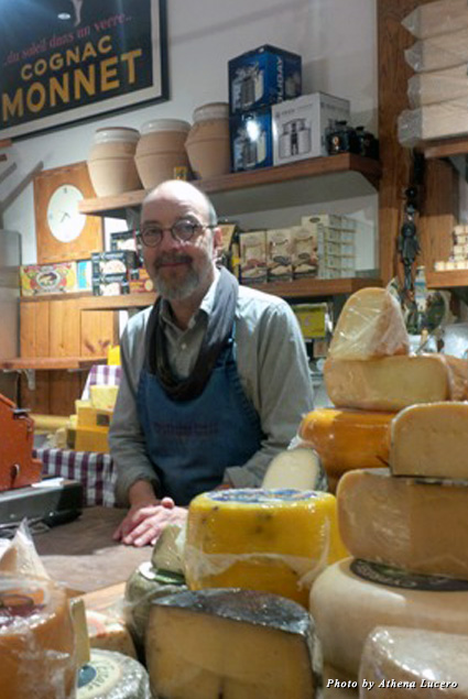 Norbert Wabnig, cheese guru and founder of the Cheese Store of Beverly Hills, runs his community store in the heart of the Beverly Hills Triangle