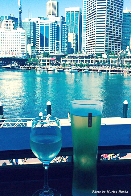 Drinks at Darling Harbour