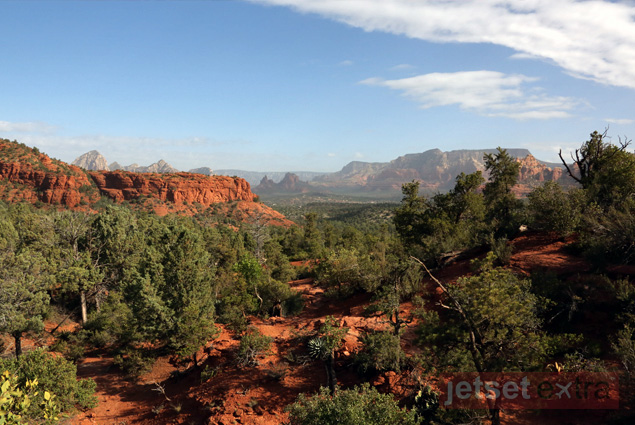 Stunning red rock scenery in Sedona