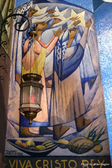 Frescos in the Parroquia Church
