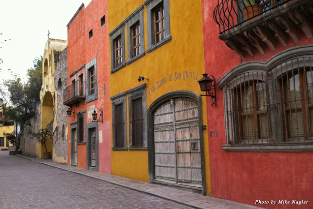 A lovely San Miguel streetscape