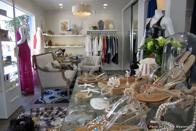 A serious shopper could spend hours browsing Azzurra Capri Boutique's sandals and summery apparel