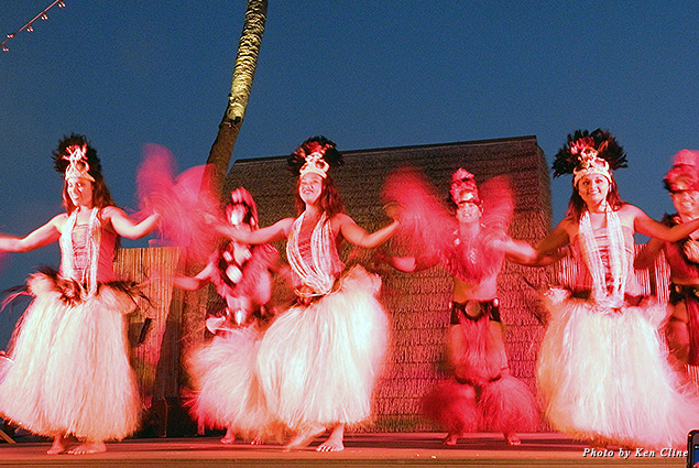 The luau is a great way to bring the family together in the evening