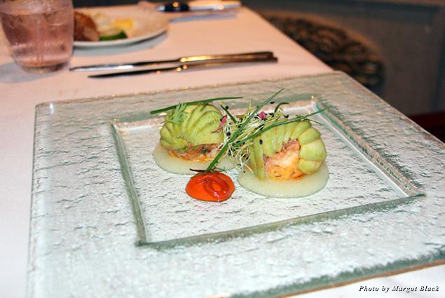 A dish at Le Gourmet