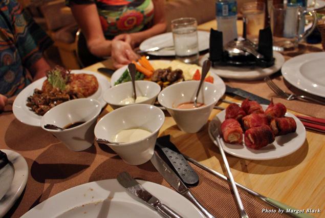 Food at La Fondue