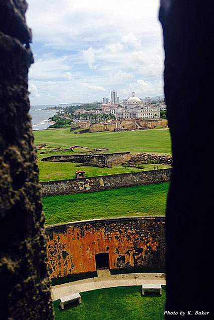 View from Fort San Felipe del Morro, Old San Juan