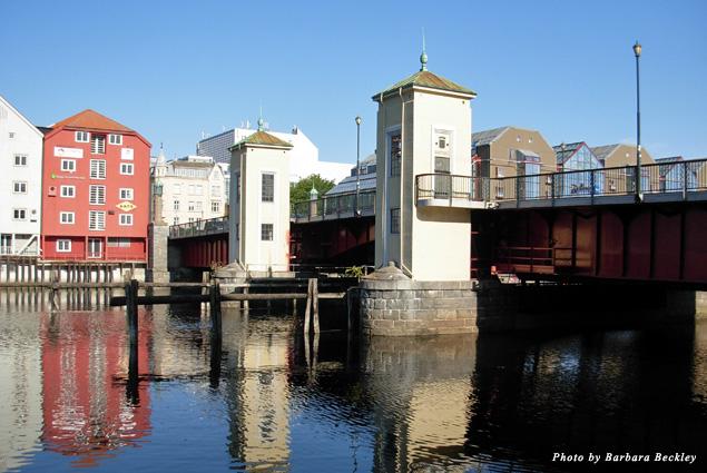 Historic yet sophisticated neighborhoods define Trondheim, Norway's third largest city