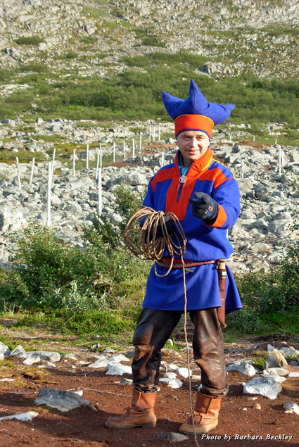 Learning to lasso the Sami way