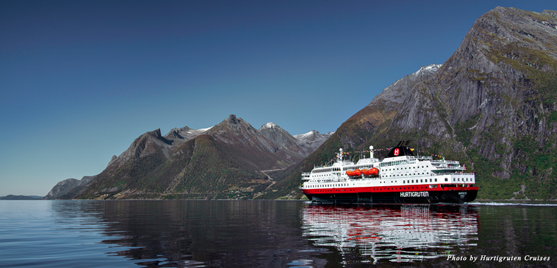 Sailing through Norway's fairytale-like fjords with Hurtigruten Cruises