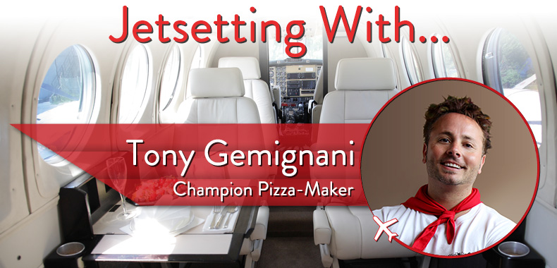 Jetsetting With Champion Pizza-Maker Tony Gemignani