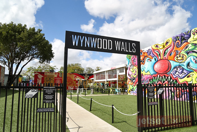 Entrance to the Wynwood Walls