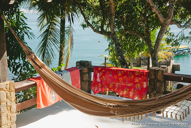A hammock at Happy Hammock
