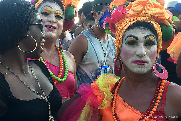 Drag queens at Carnival