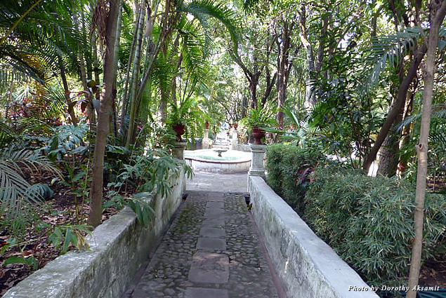 Lush Borda Gardens in the heart of Cuernavaca