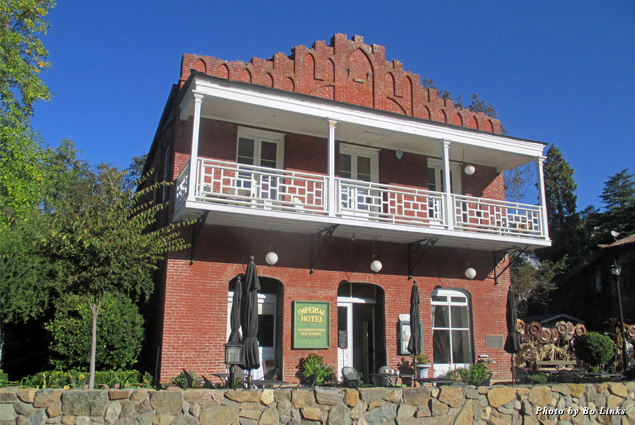 Exterior of the restored Imperial Hotel