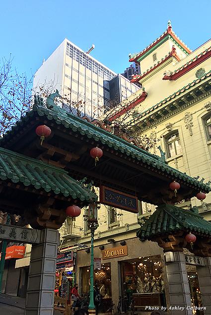 Architecture in San Francisco's Chinatown