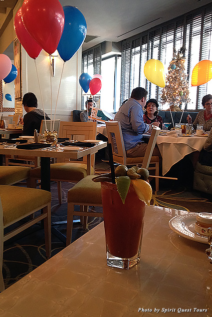 Bloody Mary at Café Adelaide