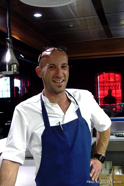 Chef Sebastian Patruno of Restaurant Hall Toll in Stavanger