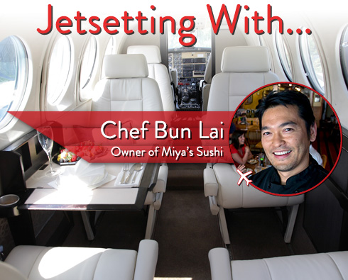 Jetsetting With Miya's Sushi Chef Bun Lai
