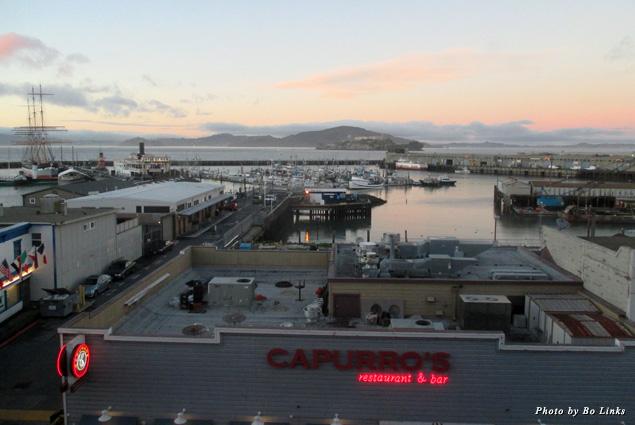 Argonaut's view of the waterfront