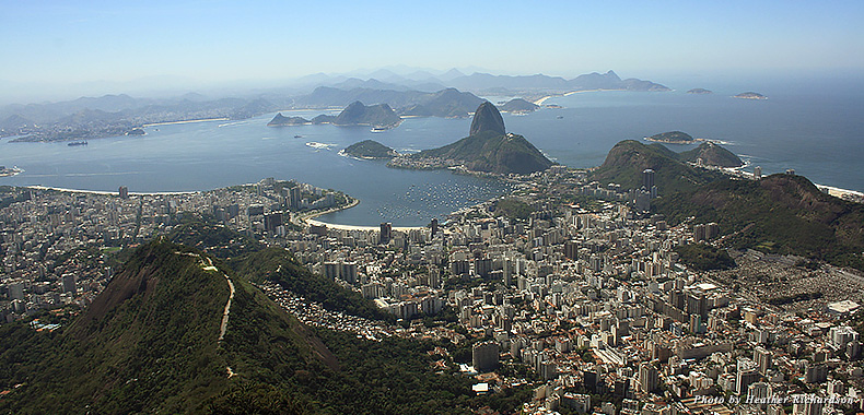 Rio de Janeiro from Corcovado Mountain